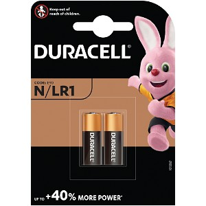 Duracell Security N / LR1 2 Pack