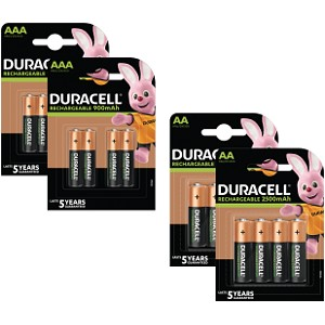 Duracell Pre-Charged AA & AAA 16pk