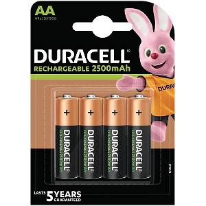 Duracell Pre-Charged AA 2500mAh