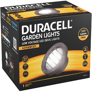 Duracell Low Voltage LED Deck Lights