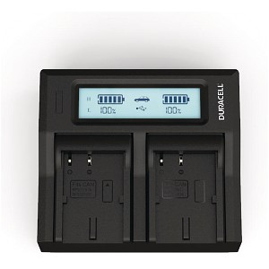 MVXLi Canon BP-511 Dual Battery Charger