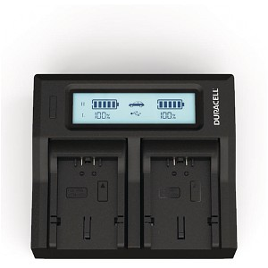 Lumix FZ50EB-S Panasonic CGA-S006 Dual Battery Charger