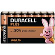 Duracell Plus AAA 16 Pack